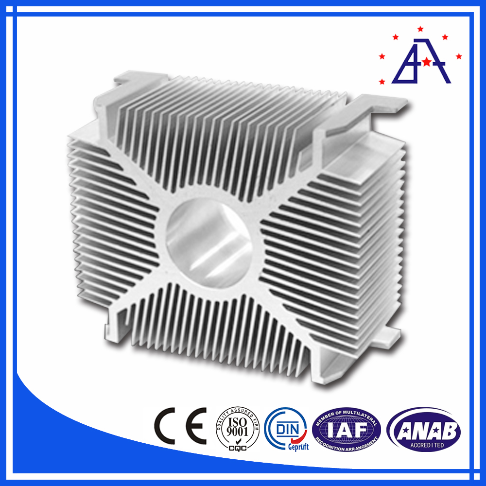 High Quality Aluminum Radiator Profile 6063-T5