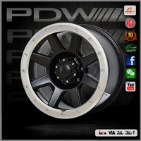 PDW brand 26 inch alloy wheels, China alloy wheels plant since 1983