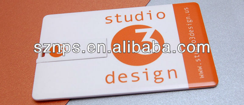 credit card business card memoria flash usb Hp usb flash disk with full color usb logo printed free shipping