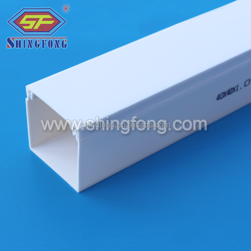 2016 Hot Sale New Products Made in China PVC Electrical Trunking OEM Service for South Africa Market