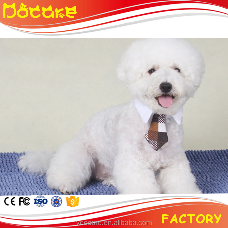 Wholesale Cheap Price Funny Pet Tie Custom Fabric Dog Cat Collar Bow Tie