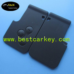 Alibaba New car key blanks for Megane smart card 3 buttons renault megane key