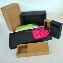 Foldable Single Wall Cardboard Kraft Paper Packaging Box,gift packing box