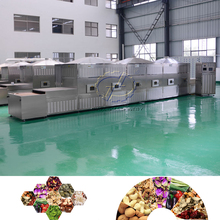 Hot Sale High Quality Cocoa beans Microwave Tunnel Dryer