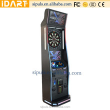 Newest Coin Operated Electronic Dart Board Cabinet Lights Machine Game Machine For Sale