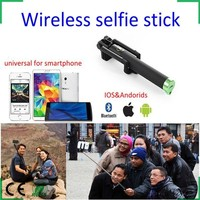 Extendable Wireless Bluetooth Shutter Selfie Monopod Stick for iPhone 6 Samsung