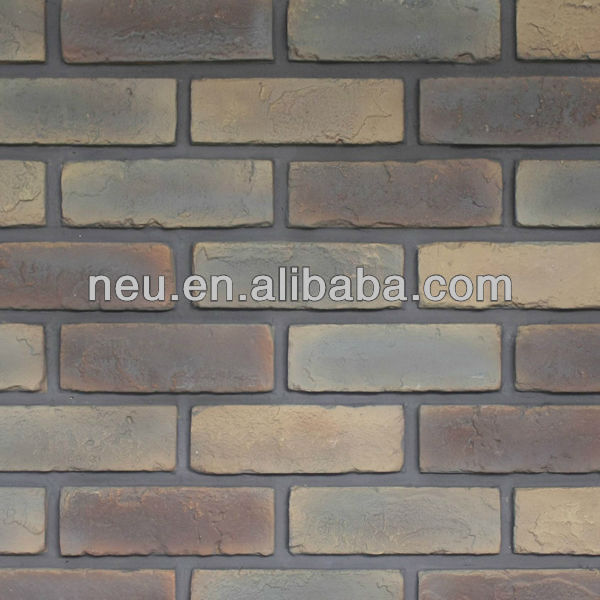 Decorative bricks, wall panel, archaized brick panel, archaized stone