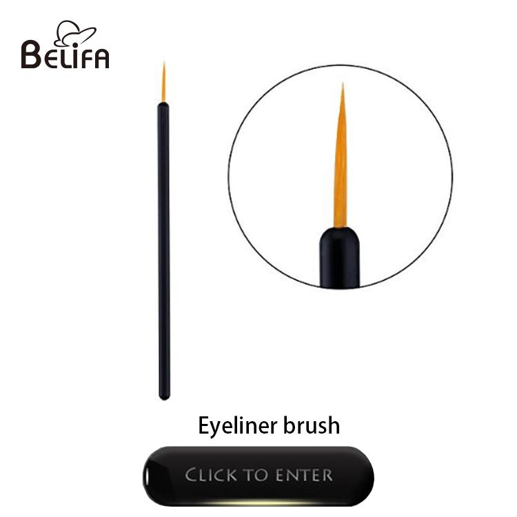 Belifa hot sale disposable eye eyelash mascara wands brush pink for eyelash extensions