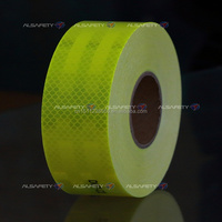 Fluenrescent yellow-green reflective tape for school bus