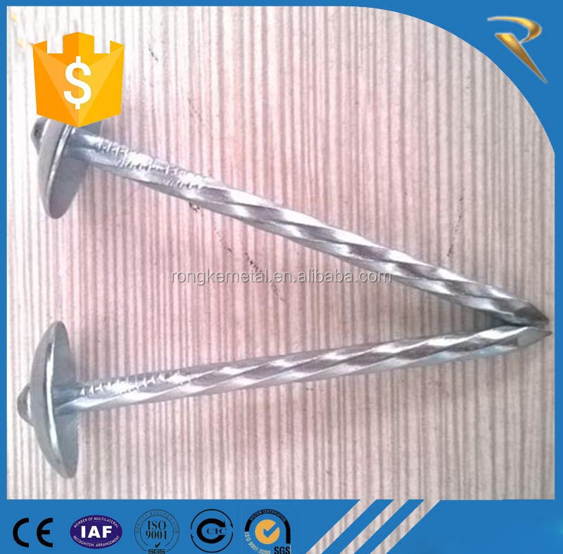 rubber washer roofing nails