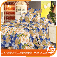 polyester discharge printing fabric/100% POLYESTER pigment printed farbic