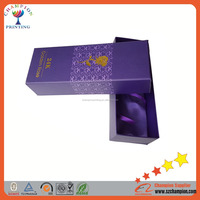 black color matte lamination large christmas gift box