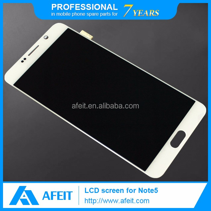 For samsung galaxy note5 mobile phone lcd screen, lcd displays full assembly for samsung n5