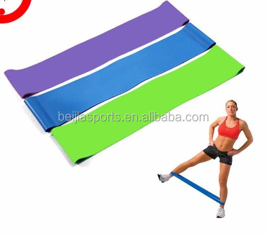 Bodybuilding Exercise loop, Stretch loop bands, Latex Stretch Bands
