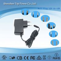 2016 multi outputs 3-12v adjustable voltage power adapter 1a