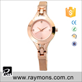 Good color IP plating stainless steel back beautiful lady wrist watches