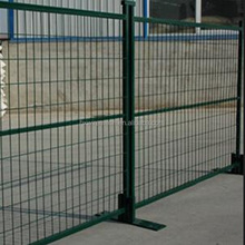 PVC security welded mesh temporary pool fence