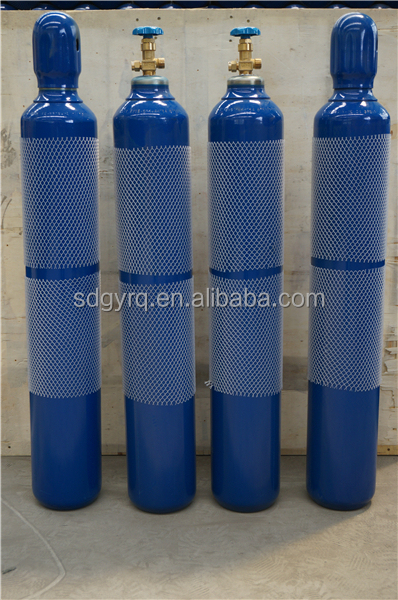 2017 hot sale ISO9809-3 159mm-15L/2.2M3 Latest model Refilled oxygen cylinder MADE IN CHINA sample cylinder