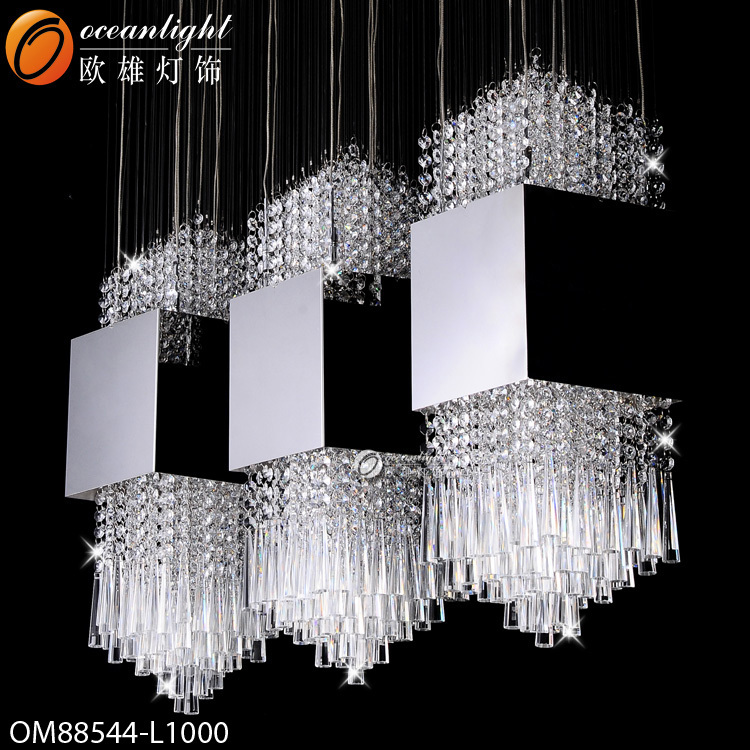 Hot Sale Modern Crystal Chandelier Lighting Diy Stainless