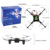 Arshiner 4CH 2.4G 6-Axis Gyro Headless Mode RC Quadcopter Drone With LED Night Lights#AM002703