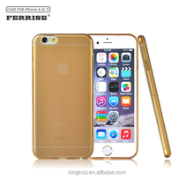Ferrise lighter thin cellphone crystal clear case for iphone 6