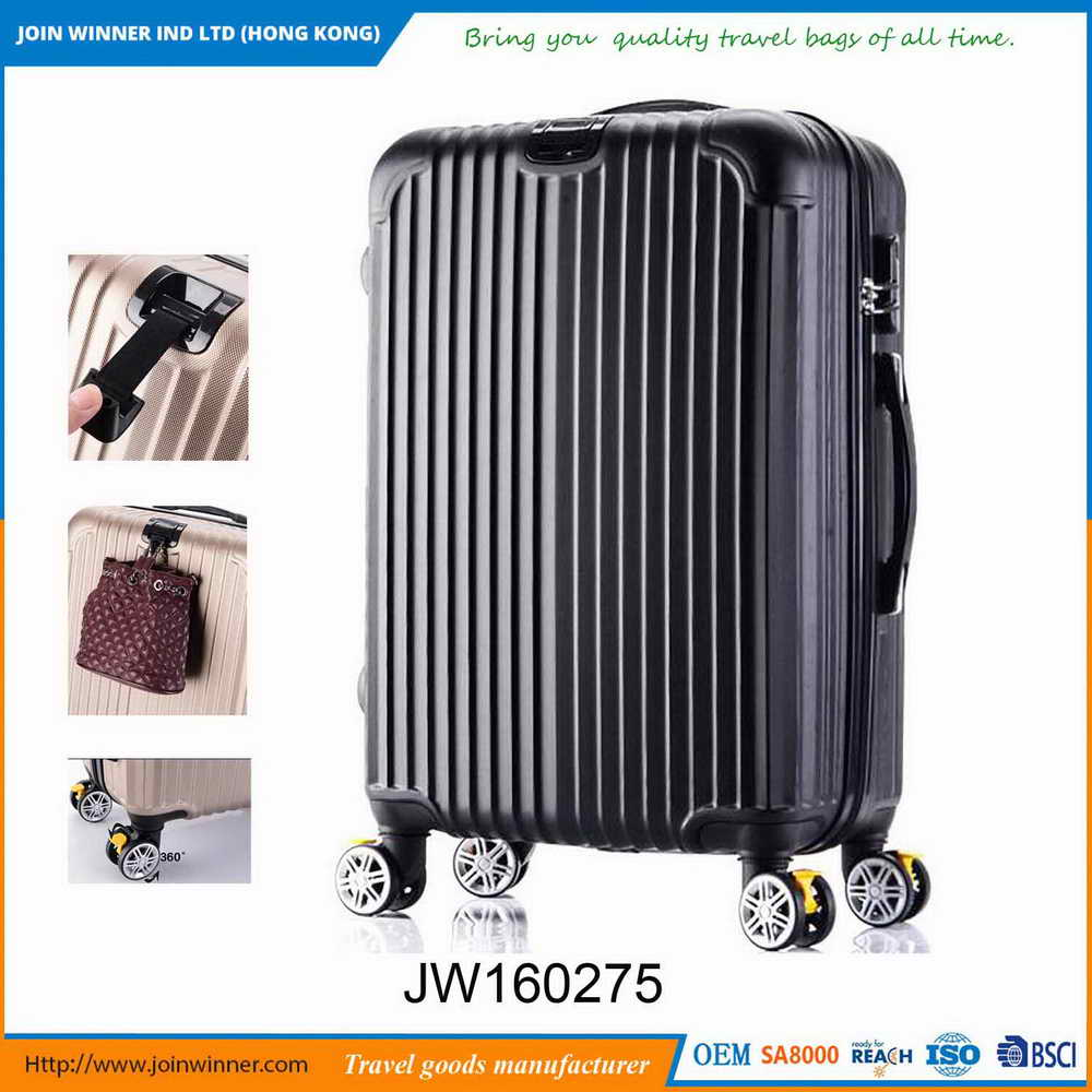 Free Samples Large Hard Shell Luggage Manufactured In China