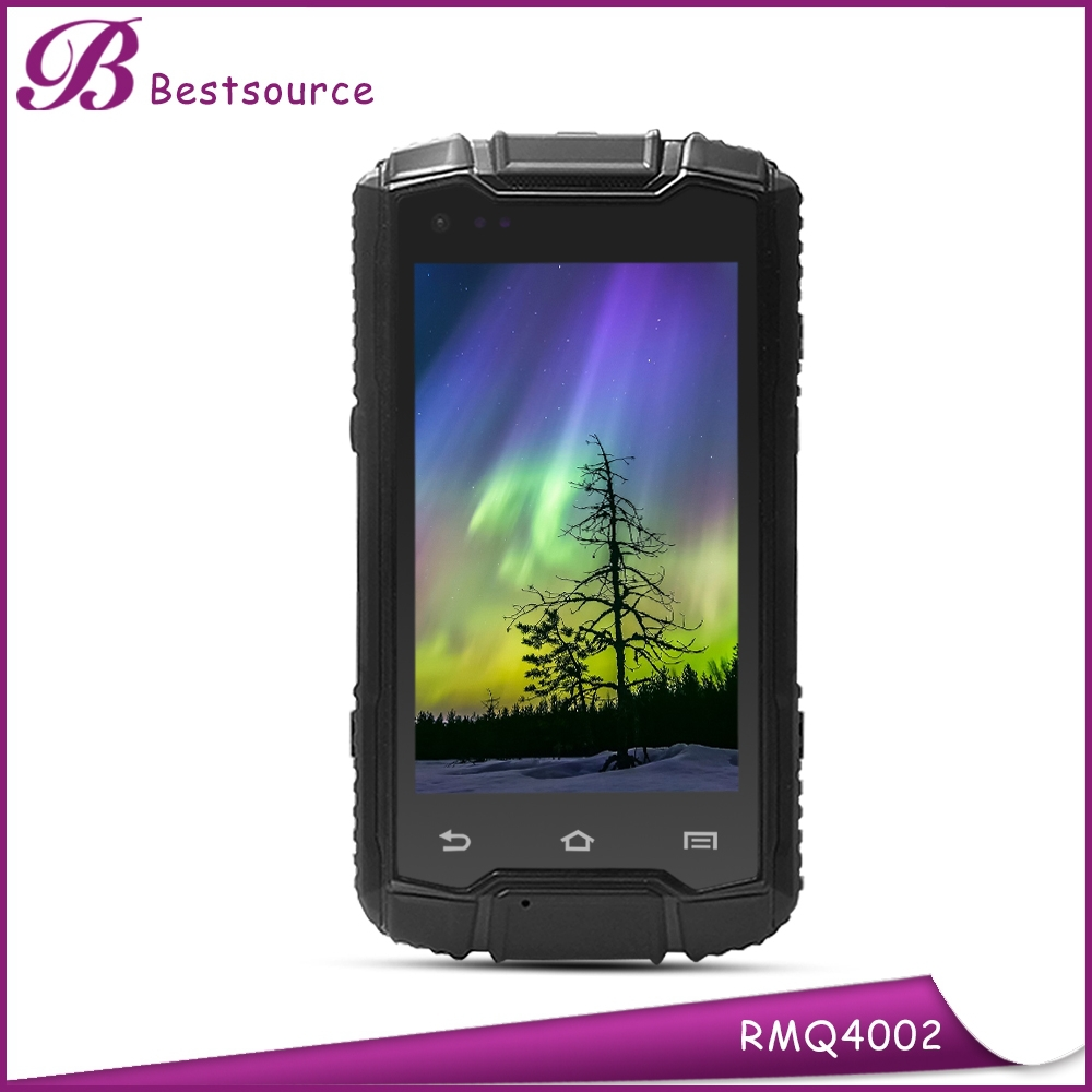 New 4inch rugged android 3g wcdma gsm mobile phone with walkie talkie nfc