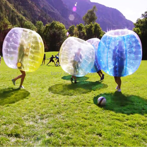 2016 New design fashion inflatable belly bumper ball/ body bubble ball soccer for sale