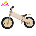 Top sale natural wooden children balance bike for 2 year old W16C060