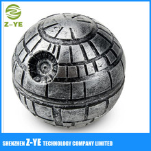 Top Rated Spice & Herb Grinder (Death Star, Silver)