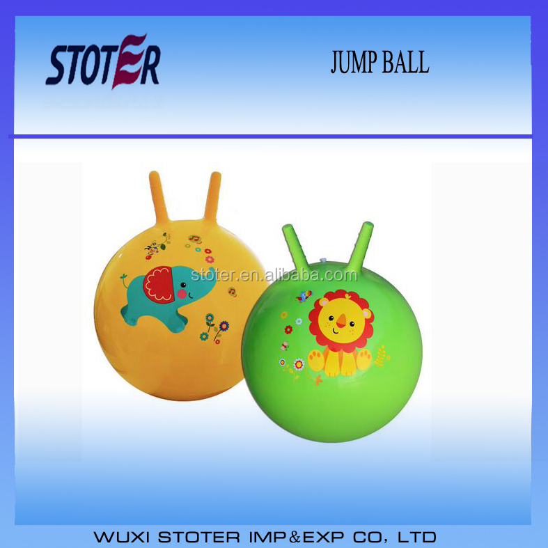 Non-toxic kids jumping ball space hopper ball