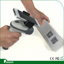 HS02 android handheld barcode scanner with mobile phone holder