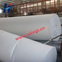 short fiber PET non -woven geotextile fabric and geotextile for slope protection