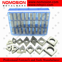 Tungsten carbide shim inserts TNMG SNMG DNMG from Nomosion