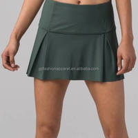 High Waist Pace Skirt With Shorts
