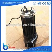 sewage cutting submersible water pump price