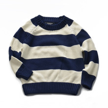 2016 new children sweater Hot fashion autumn boys cotton long - sleeved knitted wool sweater