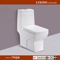 S-trap washdown one-piece toilet