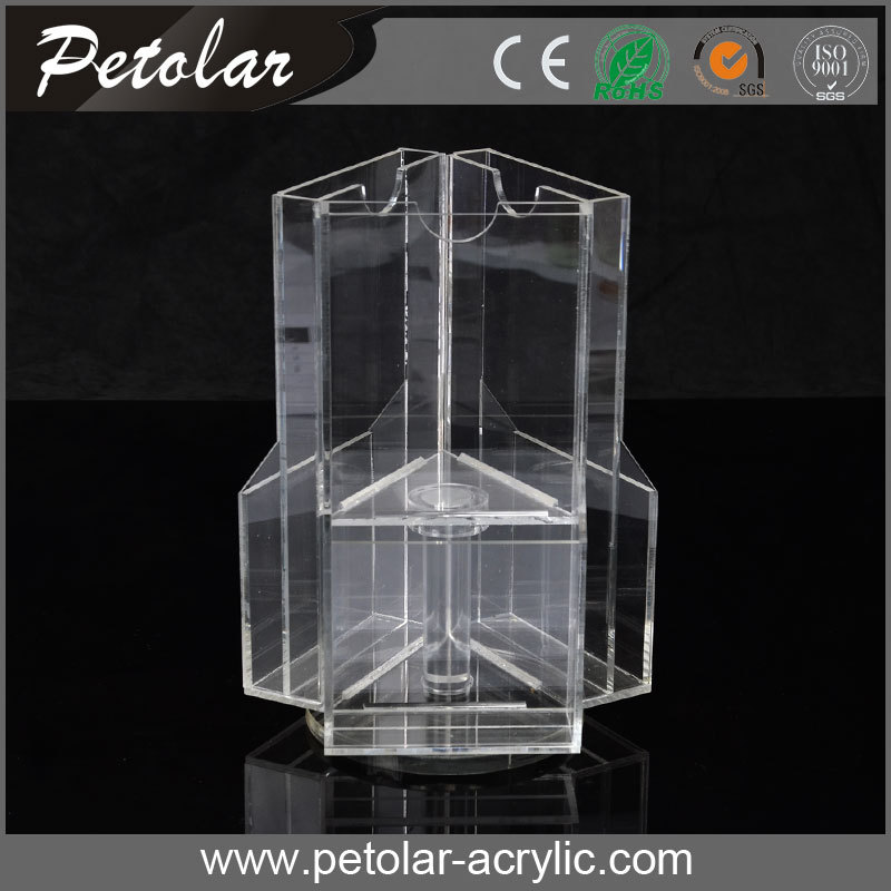 high end put referentce date large acrylic display cube