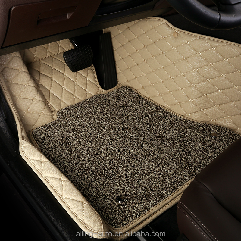 Hotsale Design Popular floor covering customized fit wholesale pvc 5d car floor mat car mats