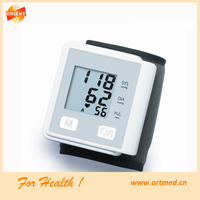 NEW Digital Wrist Tech Blood Pressure Monitor & Heart Rate Meter Wrist Watch Blood Pressure Monitor