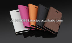 Factory Price Smart Stand Leather Case For iphone4 4S Credit Card Holder Stocks