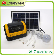 new design portable solar panels for home system with radyo
