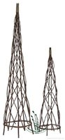 willow obelisks for gardening