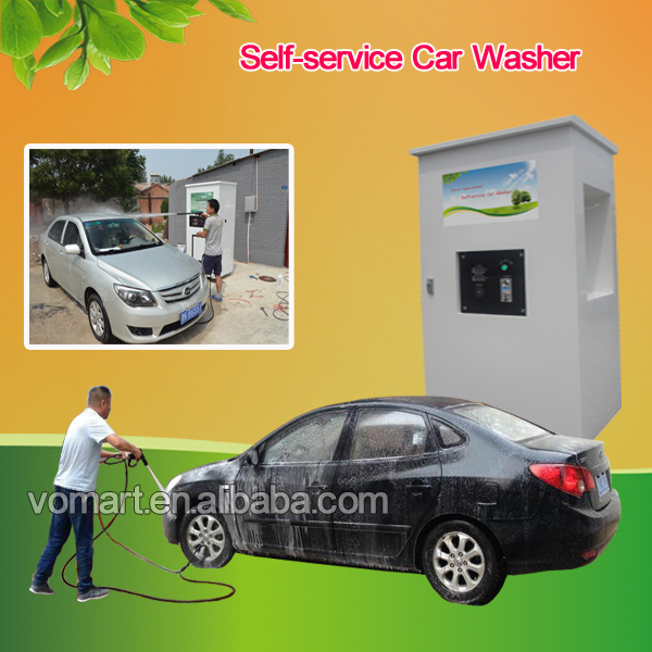 1.6KW coin/card operated self service car wash equipment/self service car wash station/self service vacuum cleaner mobile
