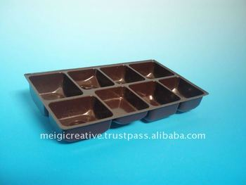 PET Plastic Food Trays for Cookies