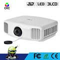 Outdoor Portable home Theater Projector 3300 lumens native 1920*1200 full hd 2K led projector support 4K