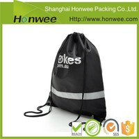 wholesale alibaba round printed canvas drawstring backpack bag