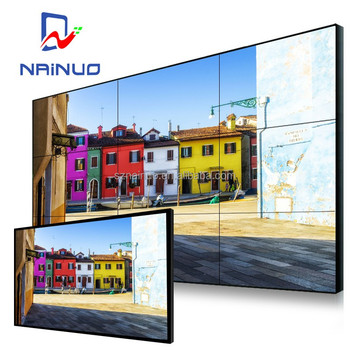 full color 55 Inch seamless multi wall mount lcd tv wall