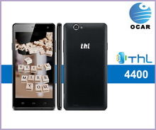 Newest THL 4400 mobile phone 5inch 1280*720 MTK6582 quad core android dual sim card phone